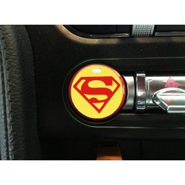 "Push Button Decal ""Superman"" (2015-2018 Mustang)"