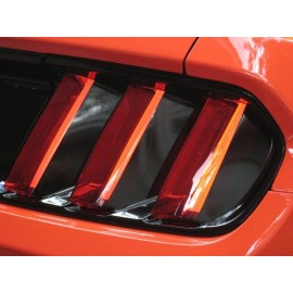 Tail Light Lens Vinyl Black Out Panels (2015-2017 Mustang)