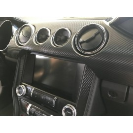 Dash Overlay Kit (2015-2017 Mustang)