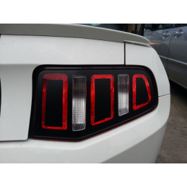 2013 Style Vinyl Tail Light Conversion Kit (2010-2012 Mustang)