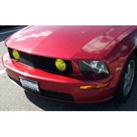 Fog Light Lens COLORED Vinyl Tint (2005-2012 Mustang GT)