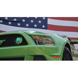 Fog Light Lens COLORED Vinyl Tint (2013-2014 Mustang)