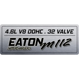 4V Coil Cover Plate - Eaton w/Displacement