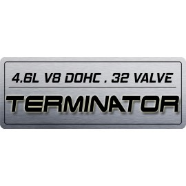 4V Coil Cover Plate - TERMINATOR S1 w/Displacement