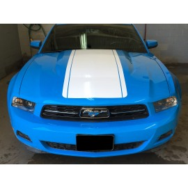 Center Hood Decal Kit (2010-2012 Mustang)