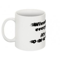 Winning isn't everything MUG