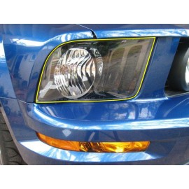 Paint Protection - Headlights (2005-2009 Mustang)