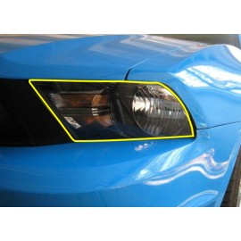 Paint Protection - Headlights (2010-2014 Mustang)