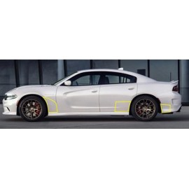 Paint Protection - Front & Rear Quarter Panels (2015-2017 Charger)