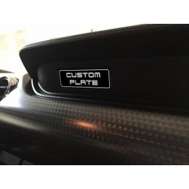 Printed Custom Dash Plate