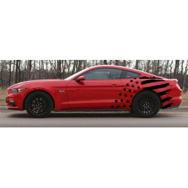 Stars & Bars Body Graphics (2015-2017 Mustang)