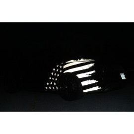 Reflective Stars & Bars Body Graphics (2015-2017 Mustang)