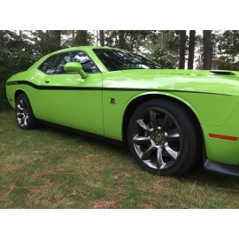 Body Line Accents/Side Stripe (2014-2016 Challenger)