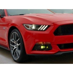 Fog Light Lens COLORED Vinyl Tint (2015-2017 Mustang)