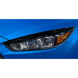 Headlight Top Vinyl Blackout Panels (2015-2017 Focus)