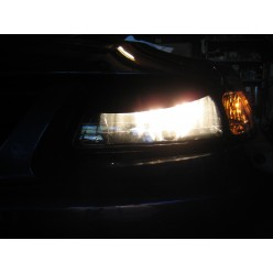 Headlight Lens Blackout Accents (1999-2004 Mustang)