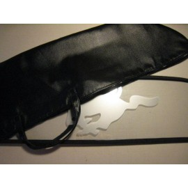 Mustang Wind Screen Storage Bag - Faux Leather